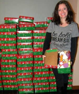 Operation Christmas Child Shoeboxes are packed and ready to be delivered!